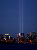 Shot from the Jersey City / Bayonne NJ border. 9/11/2010