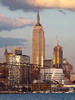 Empire State Building in the ever changing skyline of NYC.