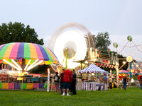 New Milford carnival and fireworks show.